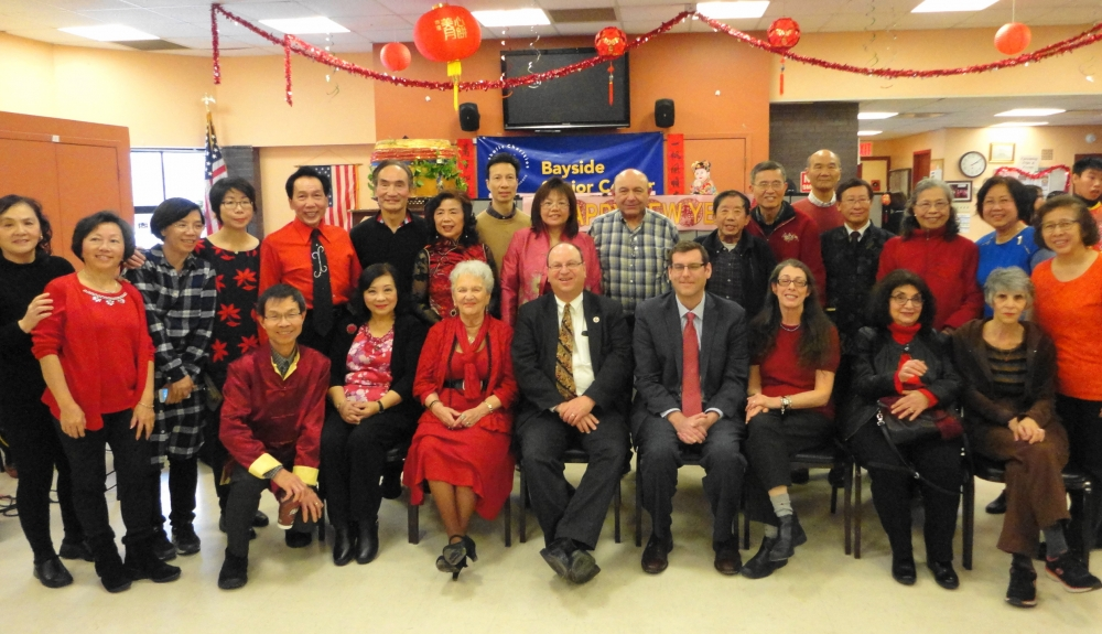 On February 11, 2017, Assemblyman Braunstein attended the Key Luck Club's Lunar New Year Celebration with Council Member Barry Grodenchik.