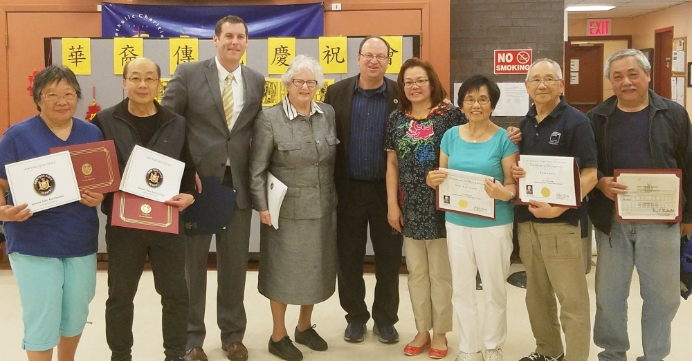 On May 20, 2017, Assemblyman Braunstein attended the Key Luck Club's 6th Annual Chinese American Heritage Celebration at Bayside Senior Center.