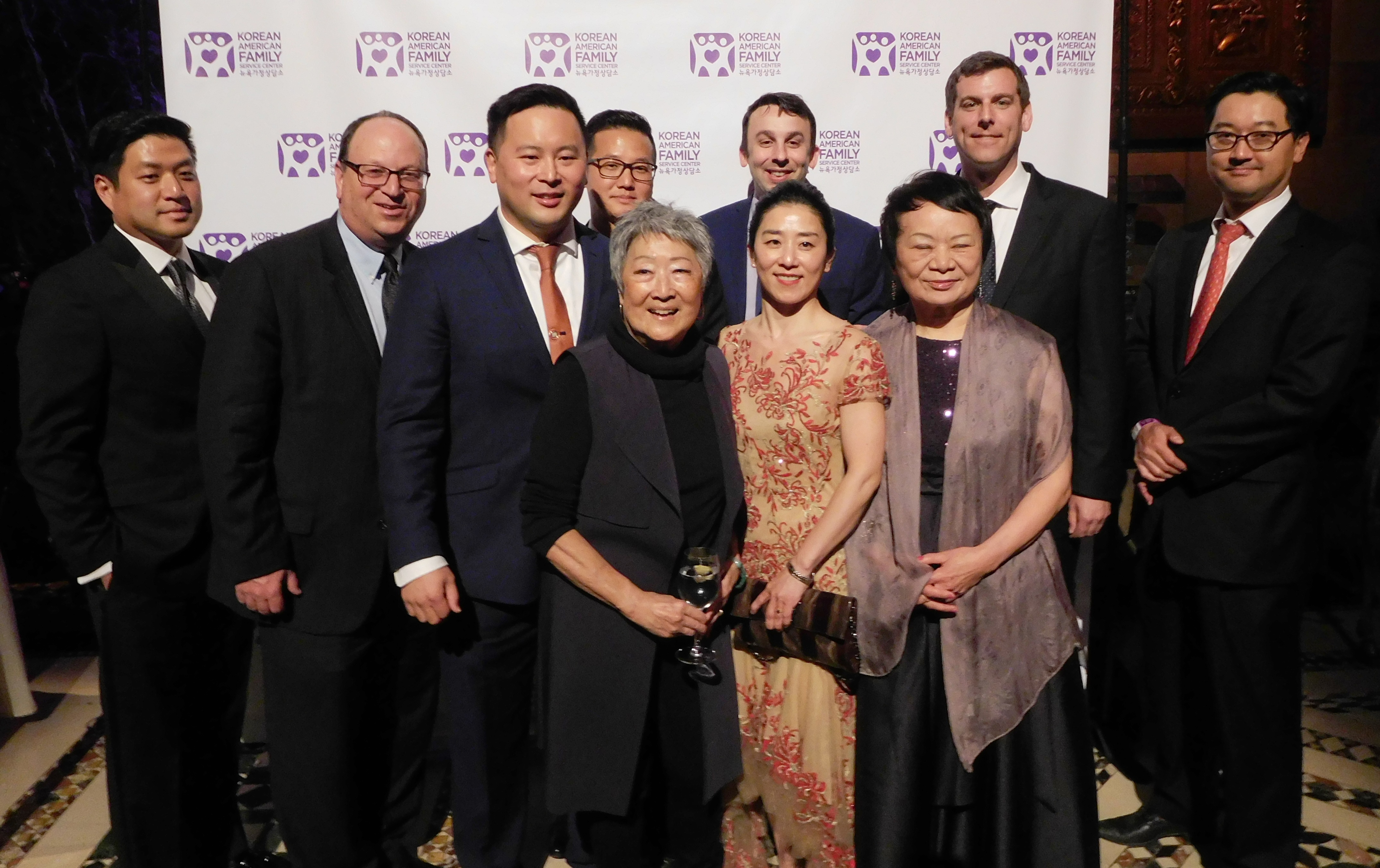 On April 27, 2018, Assemblyman Braunstein attended the Korean American Family Service Center's 29th Annual Benefit Gala.