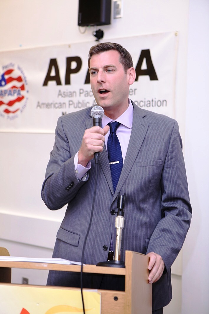 On May 5, 2018, Assemblyman Braunstein attended the APAPA New York Asian Pacific Islander Heritage Month Celebration.