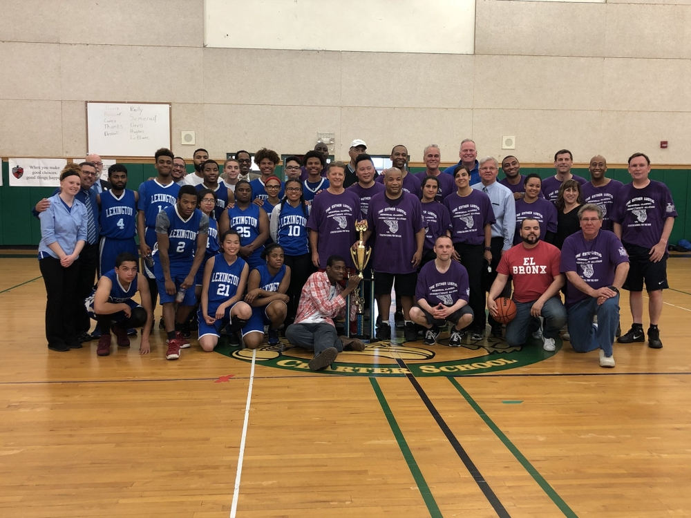 On May 15, 2018, Assemblyman Braunstein attended the Lexington School for the Deaf&rsquo;s annual Esther Lustig Memorial Basketball Classic.<br />&nbsp;