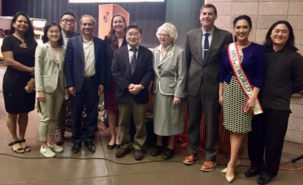 On May 24, 2018, Assemblyman Braunstein attended Assemblywoman Nily Rozic's Asian American Heritage Month Celebration.