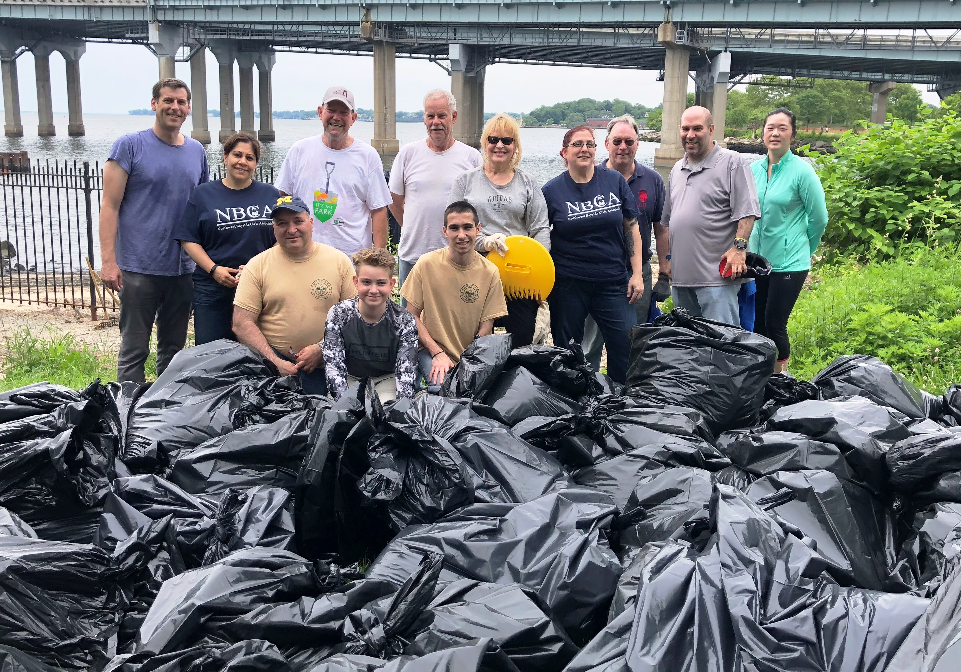 On June 10, 2018, Assemblyman Braunstein held a Little Bay Park Beach Cleanup with assistance from Boy Scout Troop 268, Greater Whitestone Taxpayers Civic Association, and the Northwest Bayside Civic Association. The cleanup removed over 100 bags of garbage from Little Bay Park.<br />&nbsp;