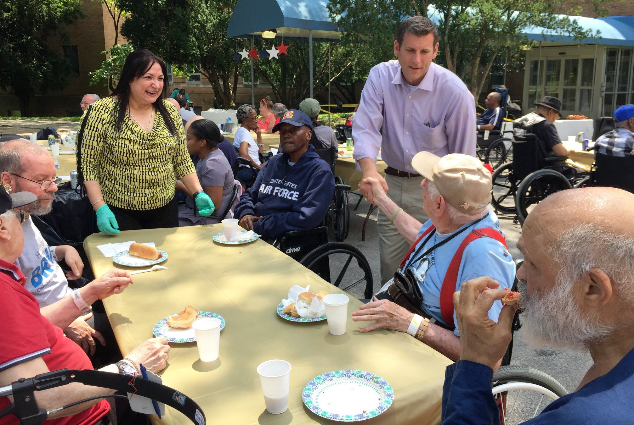 On July 28, 2018, Assemblyman Braunstein attended the Annual Kiwanis Veterans Picnic at the New York State Veterans&rsquo; Home at St. Albans.<br />&nbsp;