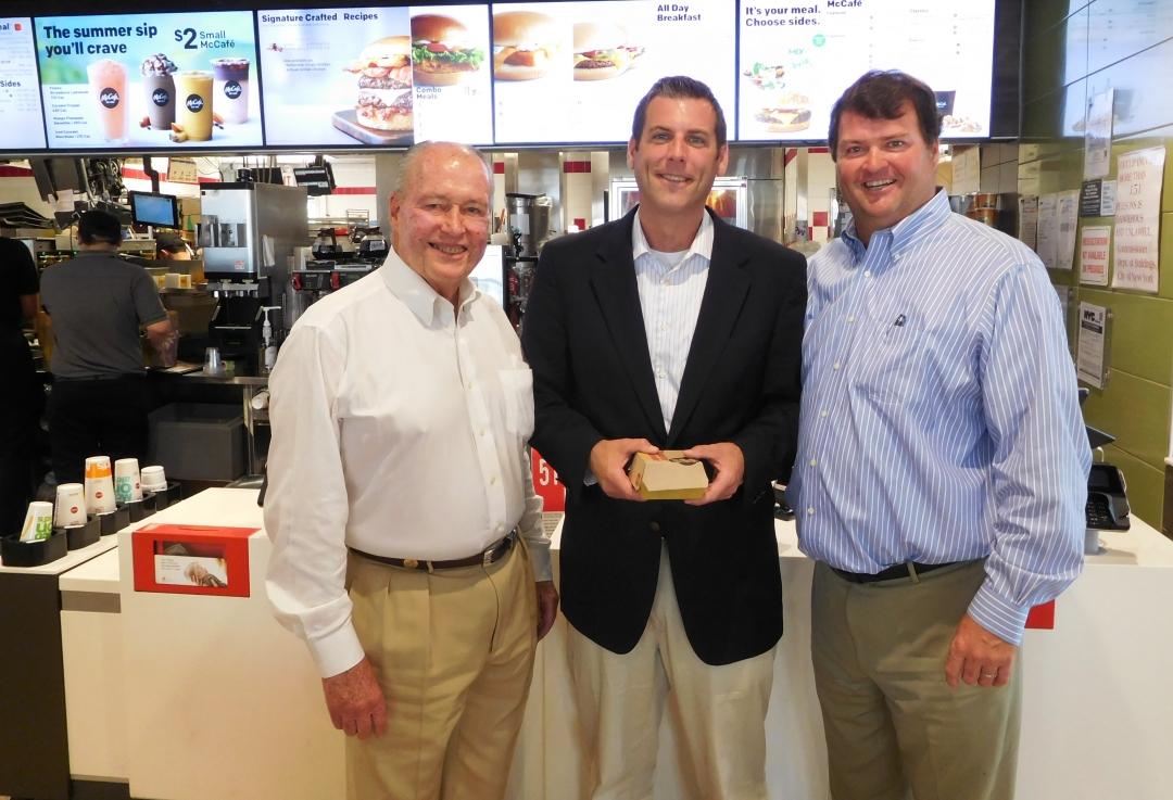 On August 1, 2018, Assemblyman Braunstein met with Bill and Patrick Miller, who have operated the McDonald&#39;s on Willets Point Boulevard in Whitestone since 1972.<br />&nbsp;