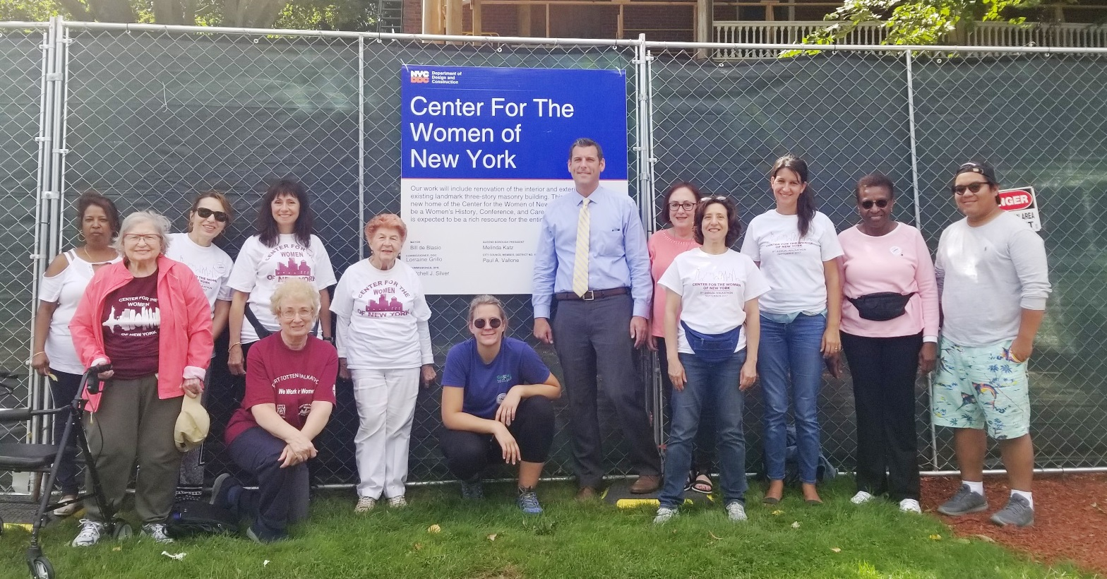 On September 22, 2018, Assemblyman Braunstein attended the Center for the Women of New York's 10th Annual Fort Totten Walkathon.