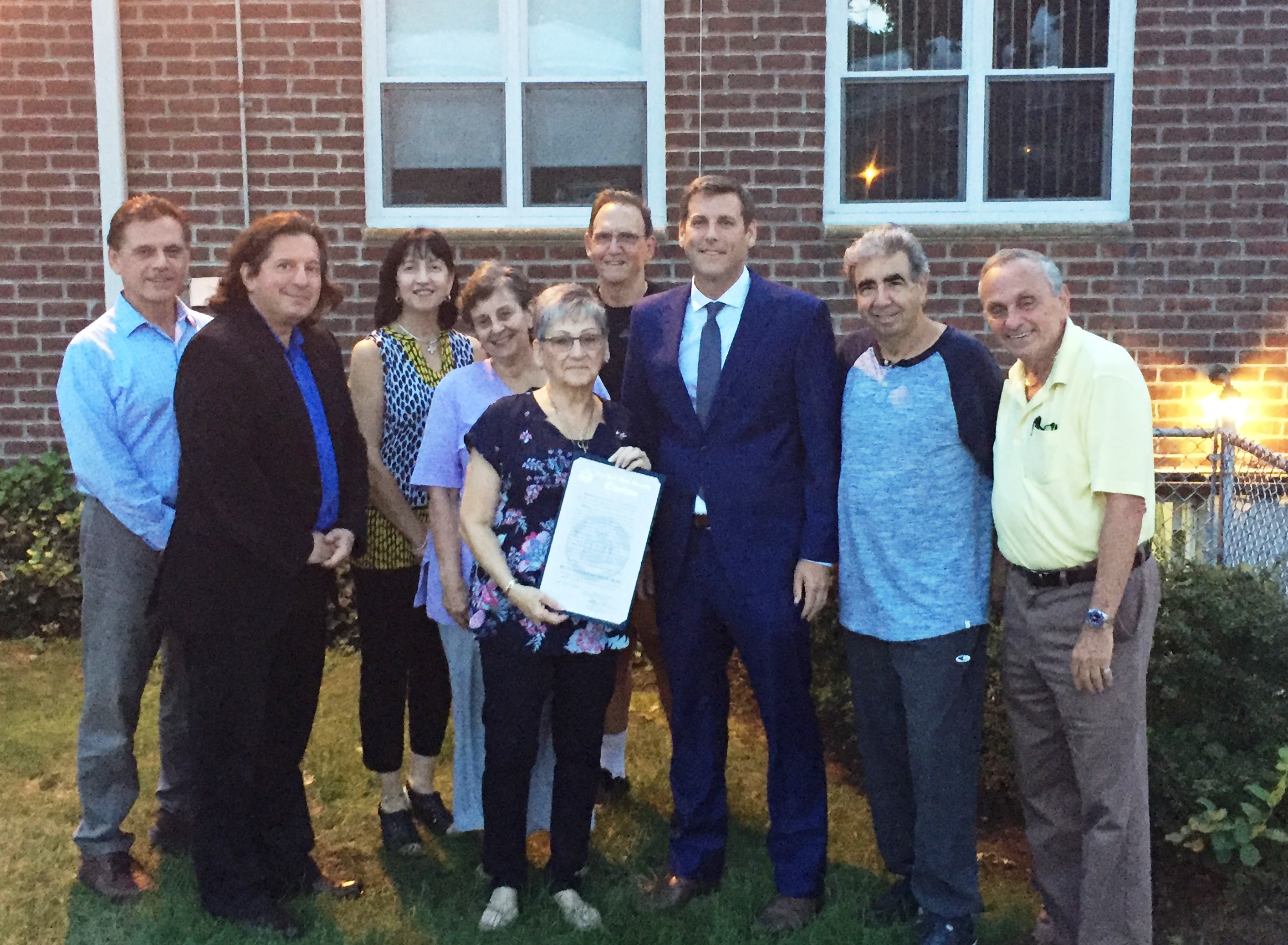 On September 26, 2018, Assemblyman Braunstein presented Bay Terrace Cooperative Section III with a NYS Assembly Citation in honor of its historic purchase of the land under its buildings.