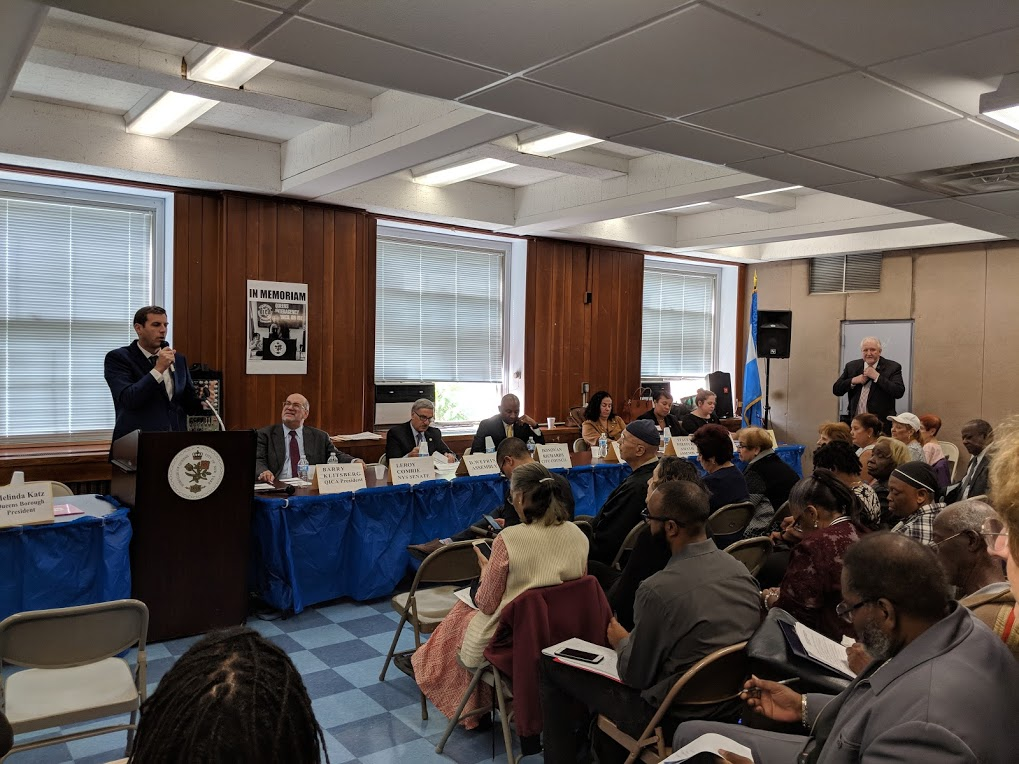 On October 12, 2018, Assemblyman Braunstein attended the Queens Interagency Council on Aging 36th Annual Legislative Forum.
