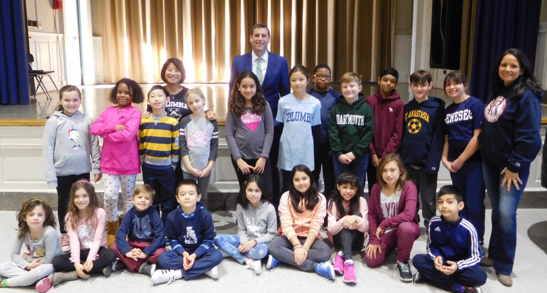 On January 11, 2019, Assemblyman Braunstein attended Future Day at PS 98 in Douglaston.