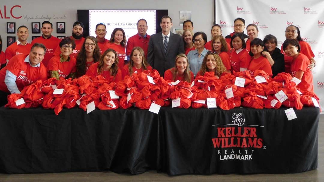 On May 9, 2019, Assemblyman Braunstein attended Keller Williams Realty Landmark's annual Renew, Energize, and Donate (RED) Day.