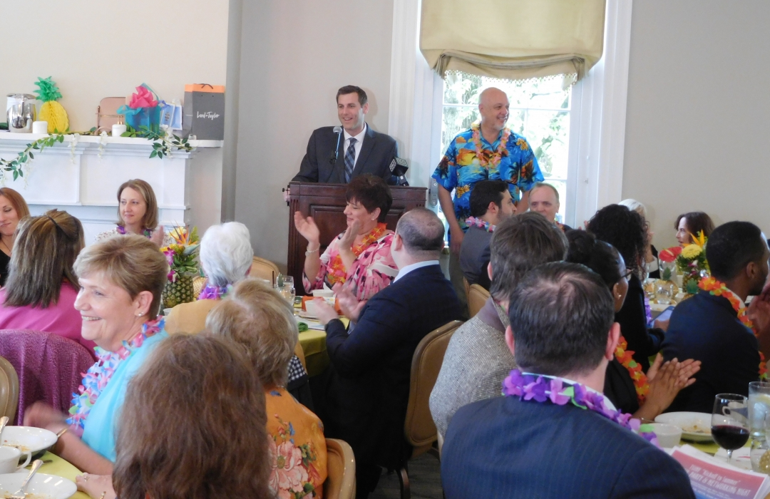 On May 9, 2019, Assemblyman Braunstein attended Transitional Services for New York's Hawaiian Spring Luncheon.