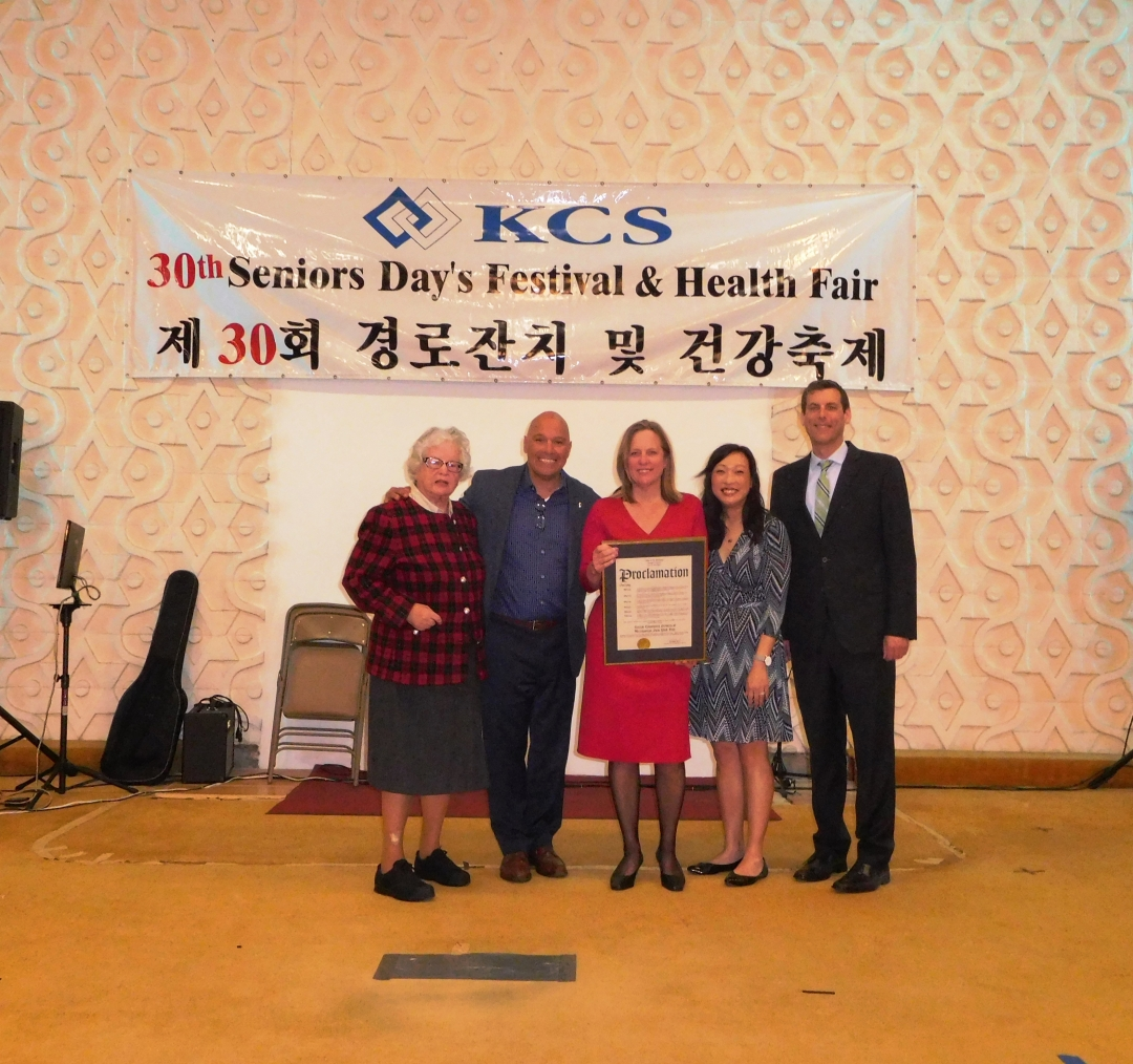 On May 11, 2019, Assemblyman Braunstein attended the Korean Community Services of Metropolitan New York, Inc. 30th Parents' Day Festival and Community Health Fair.