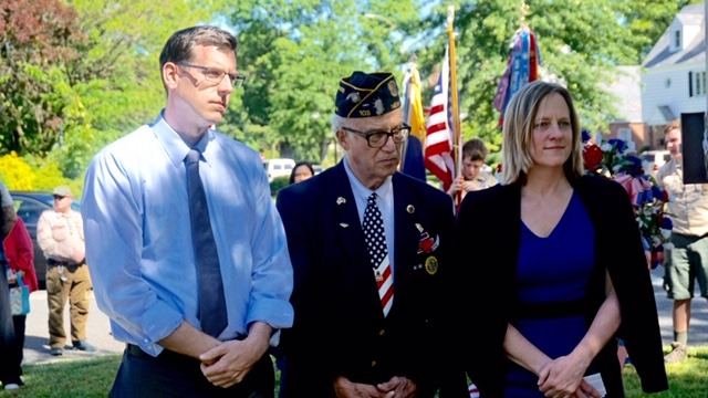 On May 25, 2019, Assemblyman Braunstein attended the Bayside Hills Civic Association Memorial Day Observance Ceremony.
