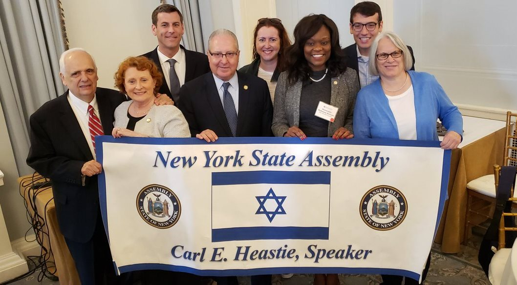 On June 2, 2019, Assemblyman Braunstein joined his colleagues at the Met Council's Legislative Breakfast.