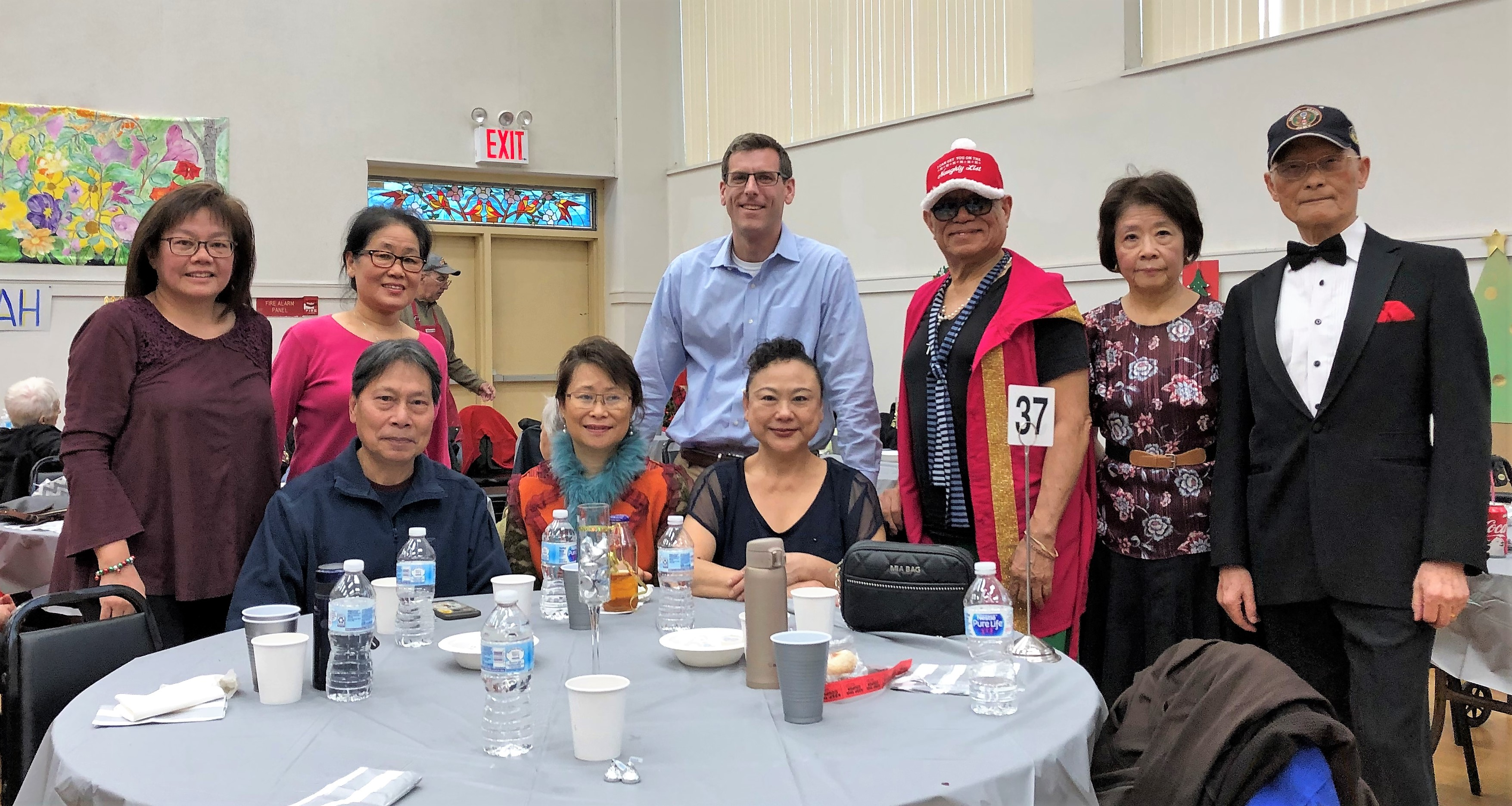 On December 16, 2019, Assemblyman Braunstein attended the Selfhelp Clearview Senior Center Holiday Party.