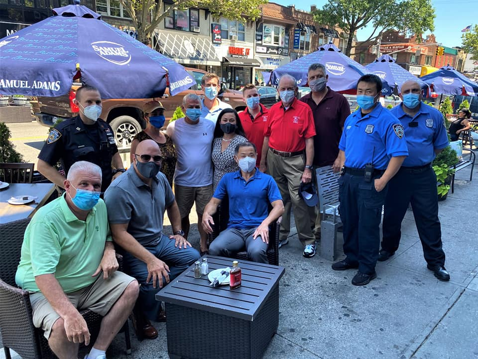 On July 9, 2020, Assemblyman Braunstein joined Community Board 11, Senator John Liu, Council Member Paul Vallone, the Bayside Village Business Improvement District, and the 111th Precinct, in celebrat