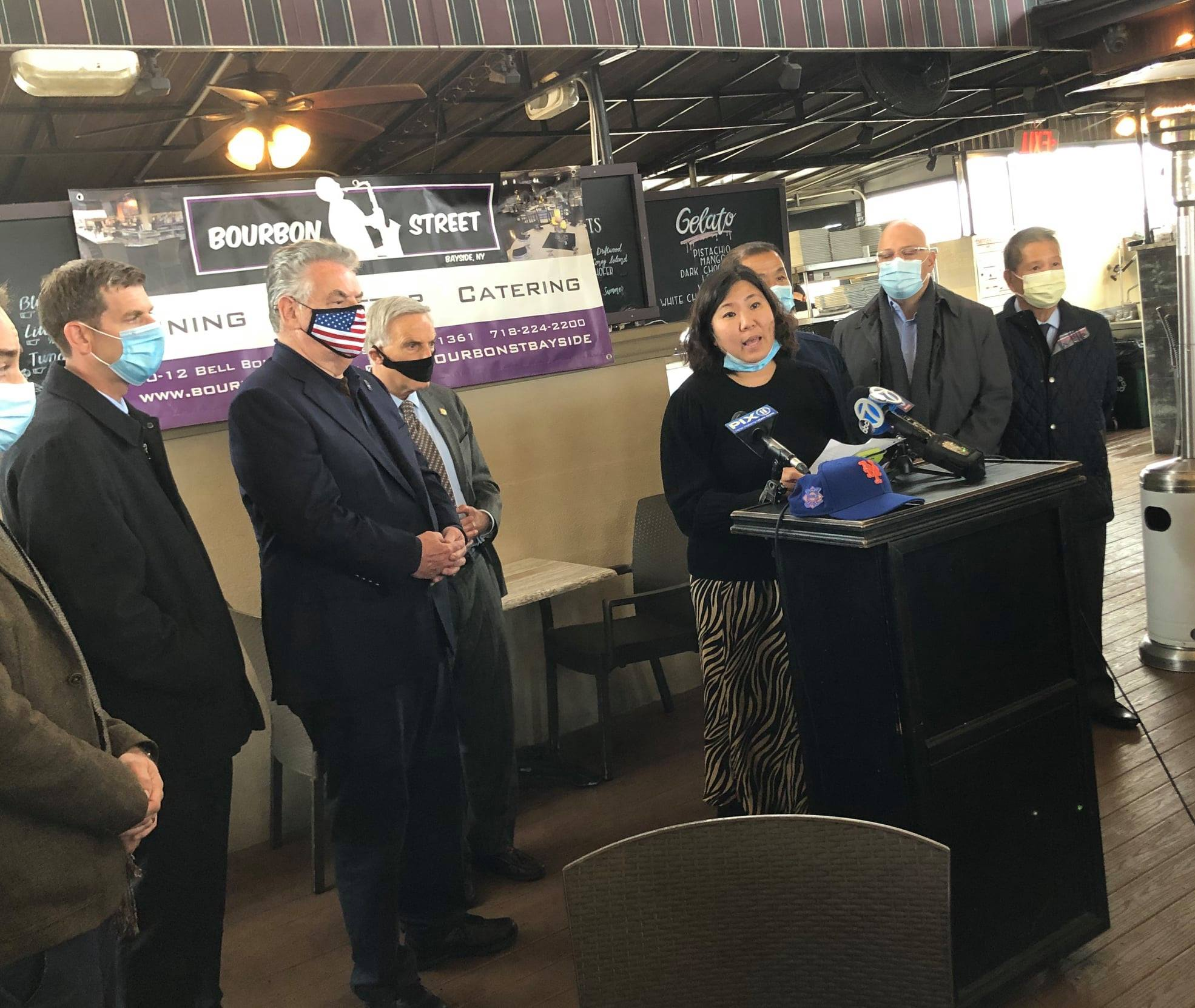 On October 30, 2020, Assemblyman Braunstein joined Congresswoman Grace Meng in calling for the enactment of the Federal RESTAURANTS Act, which would provide funding to help restaurants and drinking es