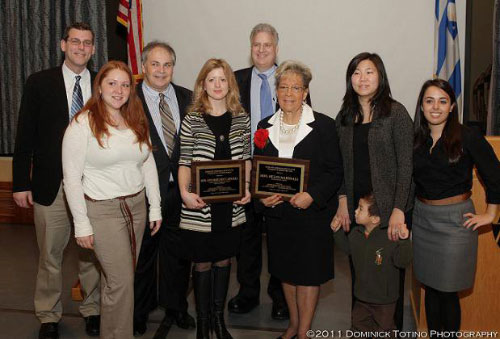 Assemblyman Braunstein joined the Northeast Queens Jewish Community Council in honoring his predecessor Ann-Margaret Carrozza for 14 years of service to Northeast Queens and the 26th Assembly District. Additional honorees included Borough President Helen Marshall, Councilman Mark Weprin, and Samuel Field Y Youth Honorees Andrea Gavora and Danielle Schaefer.
