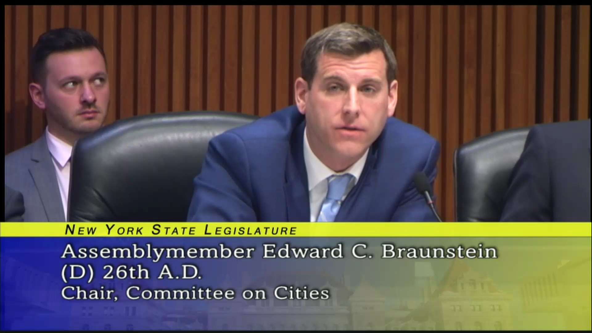 Braunstein Fights for Education Funding and Property Tax Reform.
