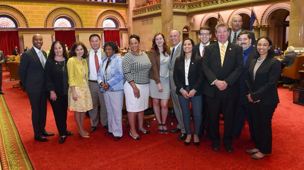 Assemblymember Daniel Rosenthal and the Queens Delegation joined Queens College representatives to celebrate 80 years of education.