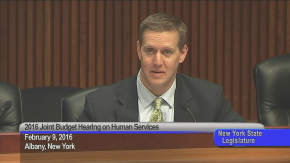 Assemblyman Hevesi Explains Hesitation Raising Shelter Allowance