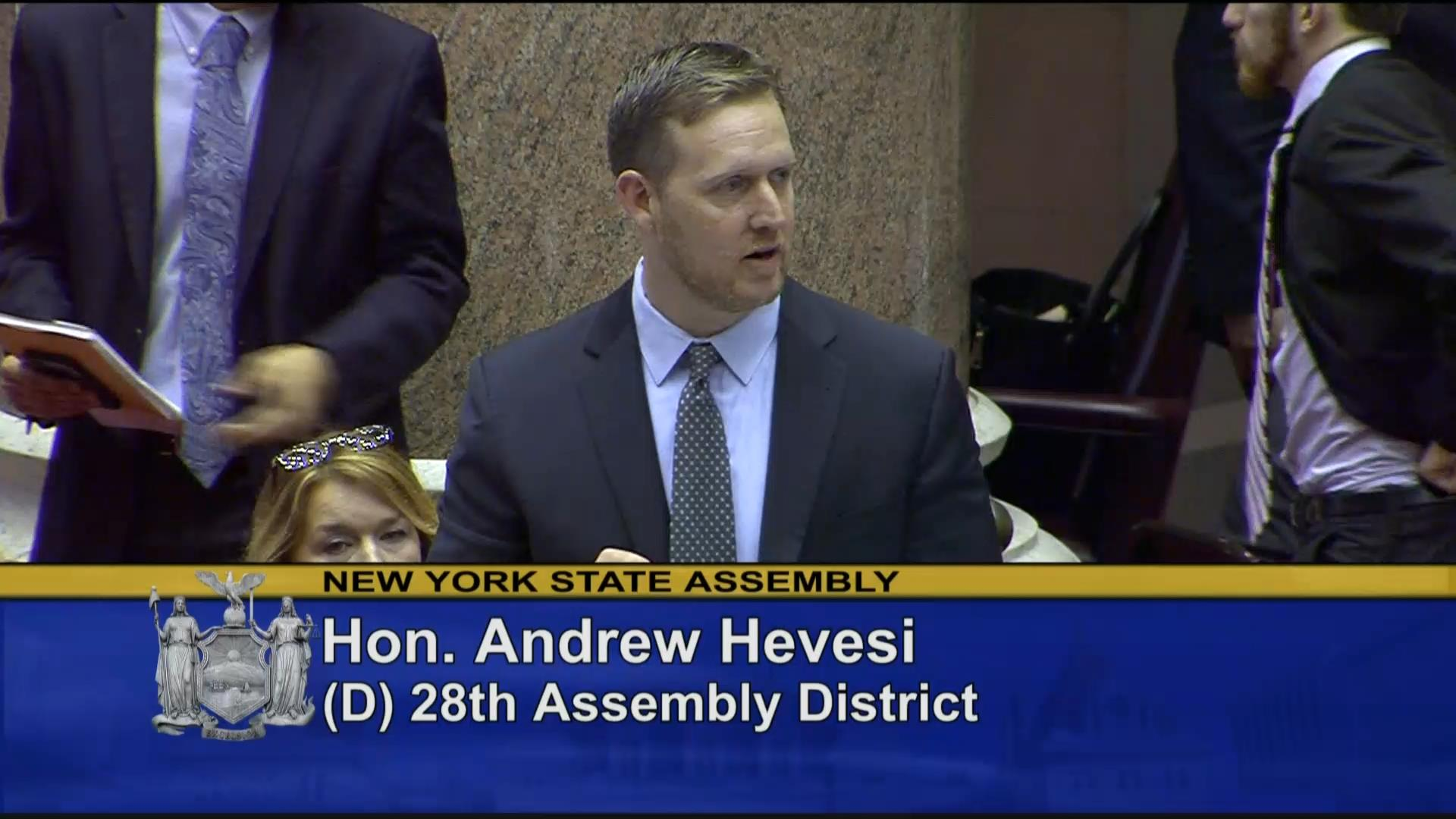 Hevesi Bill to Protect Individuals with Disabilities