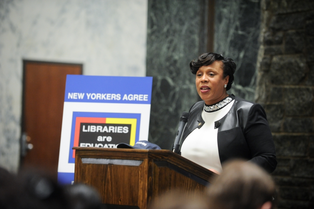 Assemblywoman Hyndman advocating for local libraries<br />&nbsp;