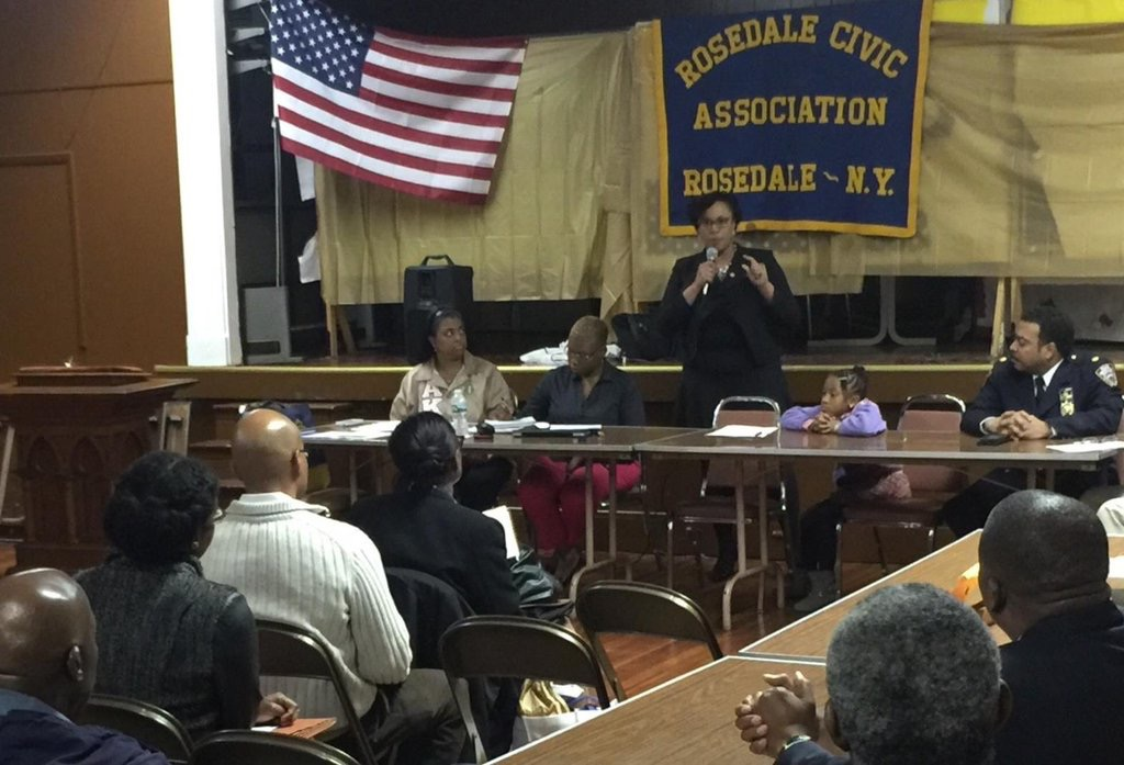 Assemblywoman Hyndman updating Rosedale Civic on the Budget<br />&nbsp;<br />&nbsp;