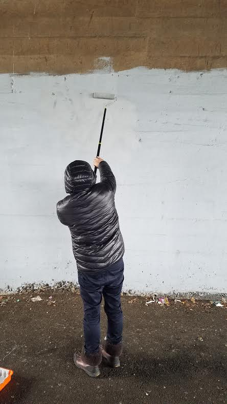 On March 10, 2017, Assemblyman Barnwell and members of his staff went out to paint over graffiti along 69th street.<br /> <br />