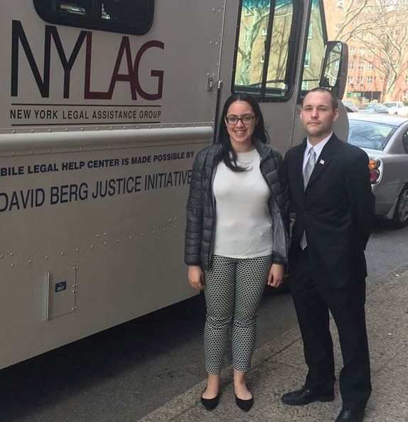 On April 10, 2017, Assemblyman Barnwell joined with the New York Legal Assistance Group to provide free legal services to the community.<br />