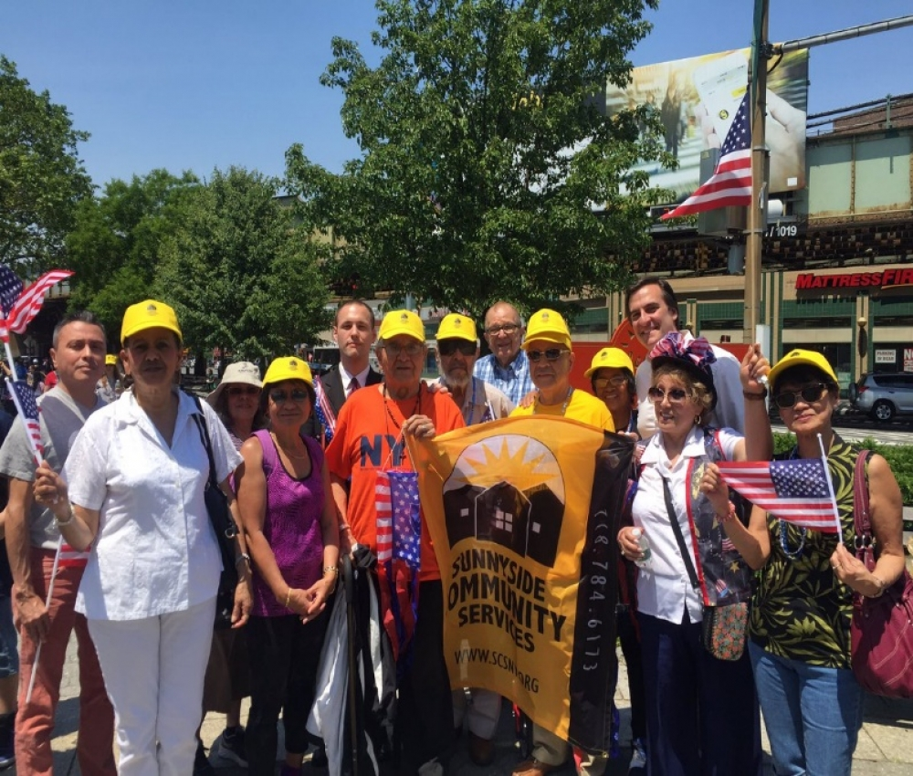 On June 10th, Assemblyman Barnwell, joined the Flag Day parade in Sunnyside to proudly honor the American flag and all the lives that were lost fighting for freedom.<br />