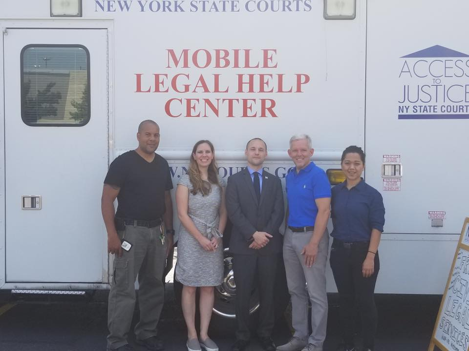 On August 1st, Assemblyman Barnwell continued his partnership with New York Legal Assistance Group (NYLAG) to provide free legal services to the community.<br />