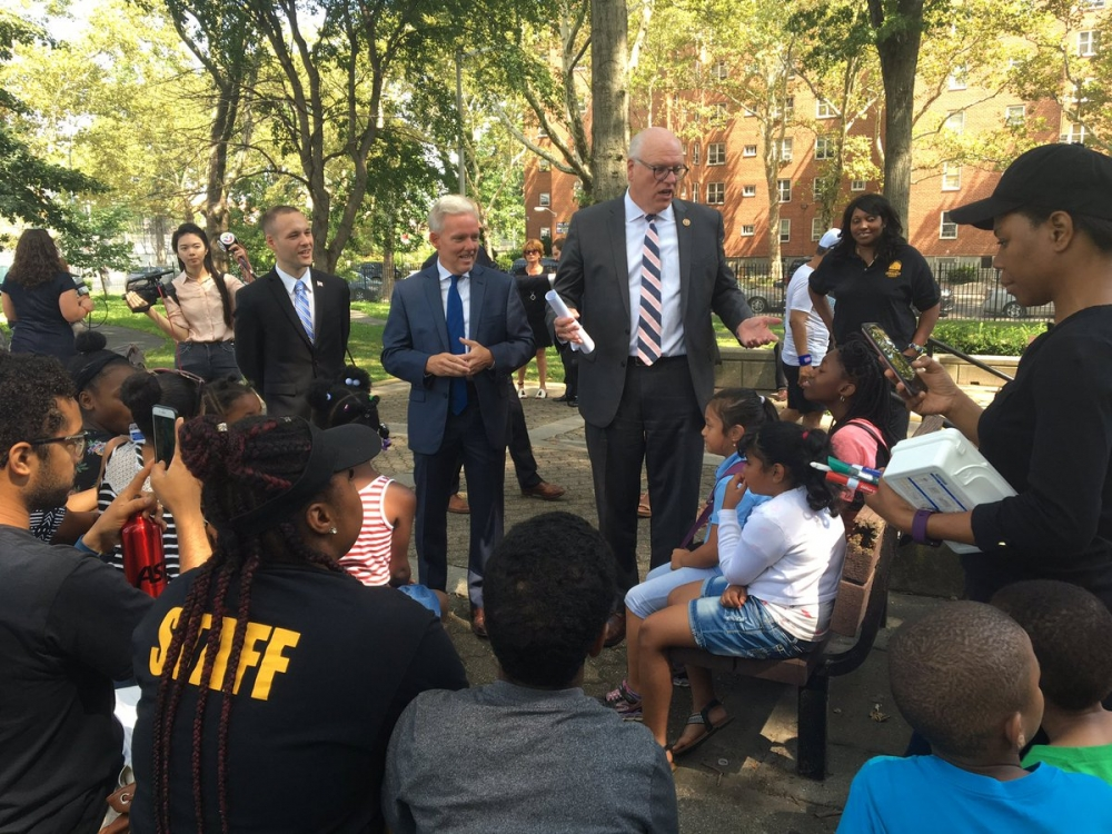 On August 21st, Assemblyman Barnwell, joined colleagues in government in support of the Rent Relief Act, which will provide real relief for renters in NYC and throughout the country.<br />