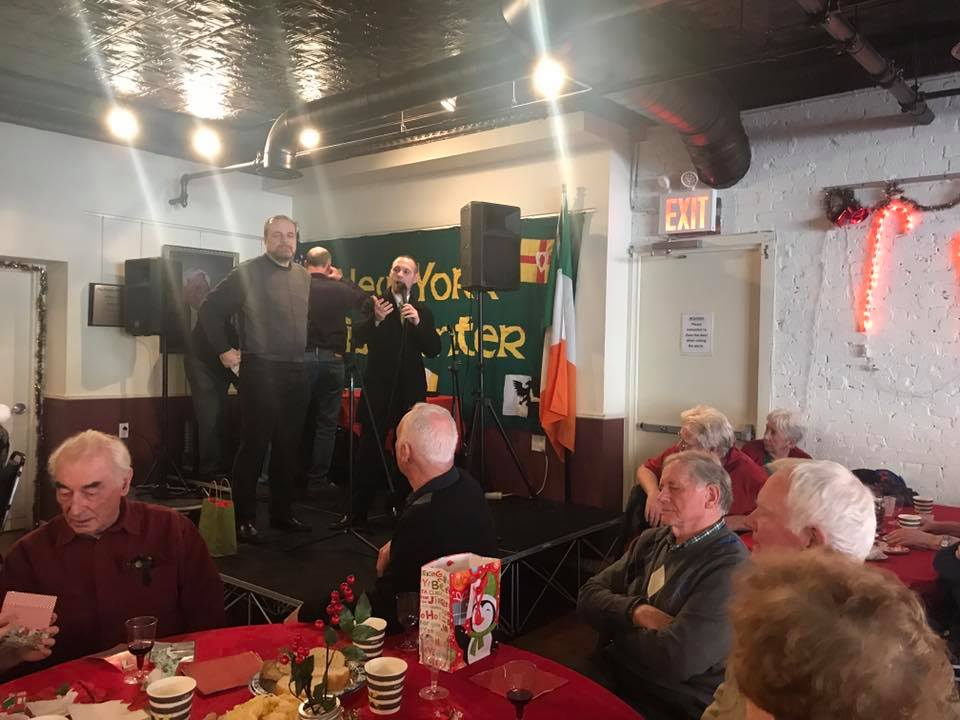 It is always a good time joining our friends and the community at the Irish Center.<br />&nbsp;
