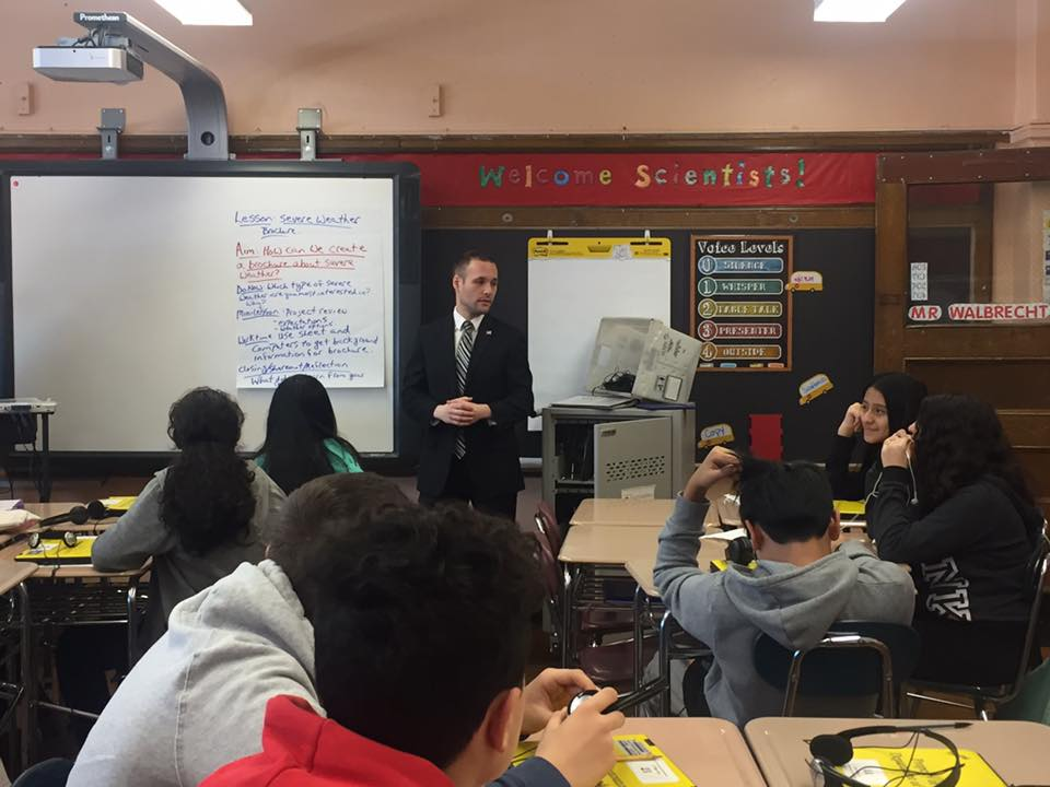 I joined IS 73 for their career day.  It is important to teach Civics and Government to the next generation.