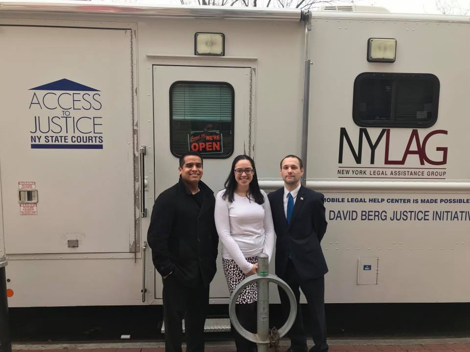 I continue to partner with NYLAG in providing free legal services for those in the community who can't afford representation.  This is a vital service.