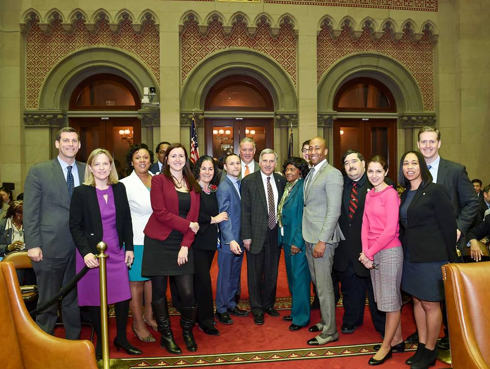 "I joined my colleagues from Queens for, ""Queens Day"".   Local businesses, entrepreneurs, and local leaders from Queens came up to Albany to showcase Queens."