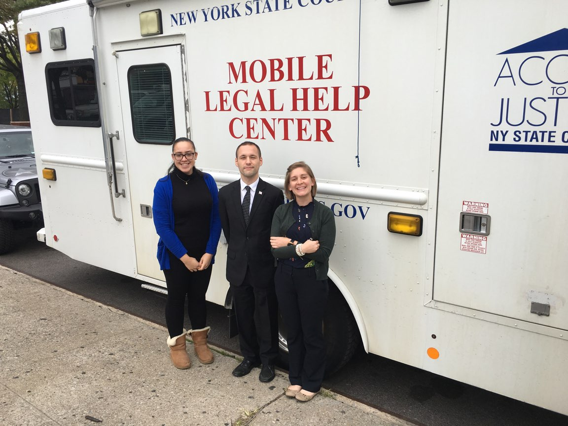 It's important to help bring free legal services to those who cannot afford them in the community. I will help continue to do so.