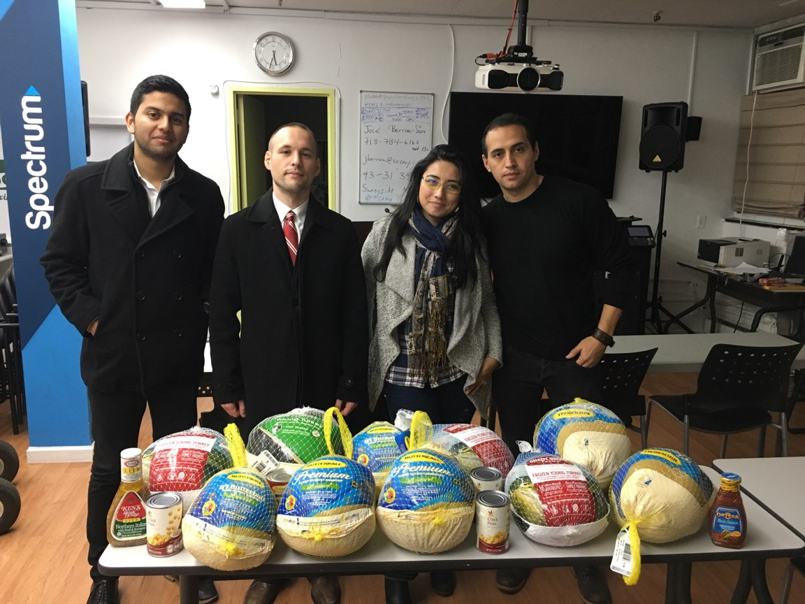 It is always important to help those who are in need.  We were able to donate many turkeys to local community organizations for distribution to those who needed a Thanksgiving meal.