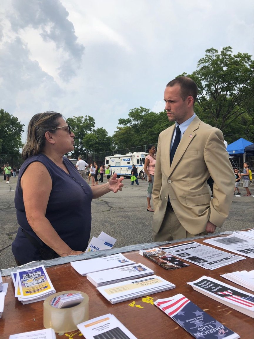 Assemblyman Barnwell discusses community concerns during National Night Out Against Crime