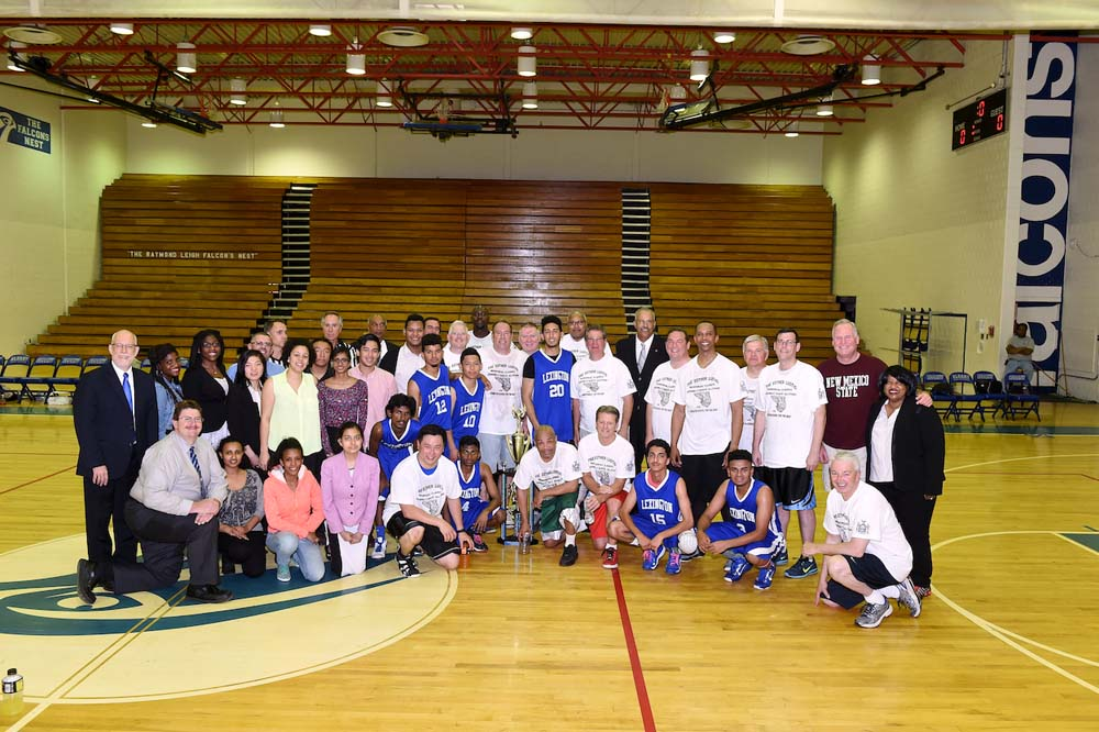 The Esther Lustig Memorial Basketball Classic. School for the Deaf and Center for the Deaf