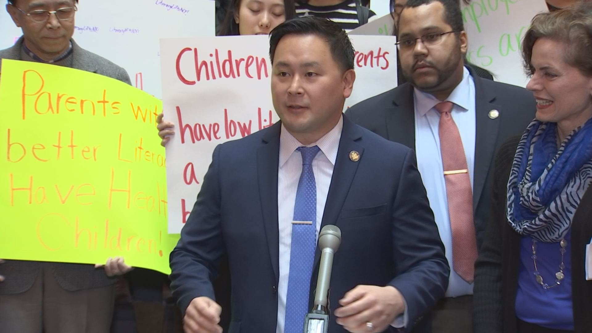 Assemblyman Kim Advocates for Adult Literacy Programs