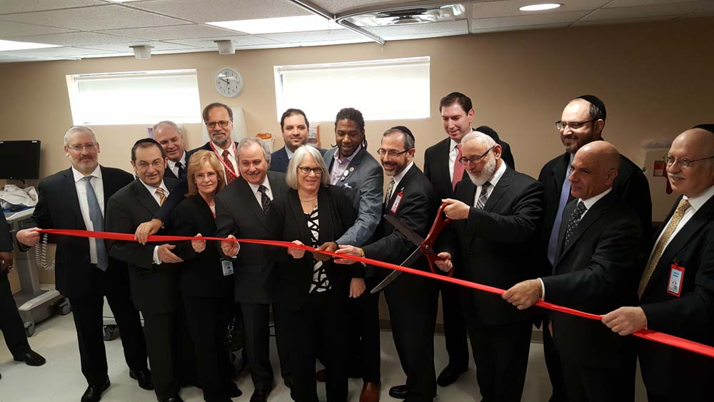 Assemblywoman Weinstein joined administrators and medical professionals at Community Hospital as they celebrated the grand opening of their expanded Emergency Room. Others in attendance were Senator S