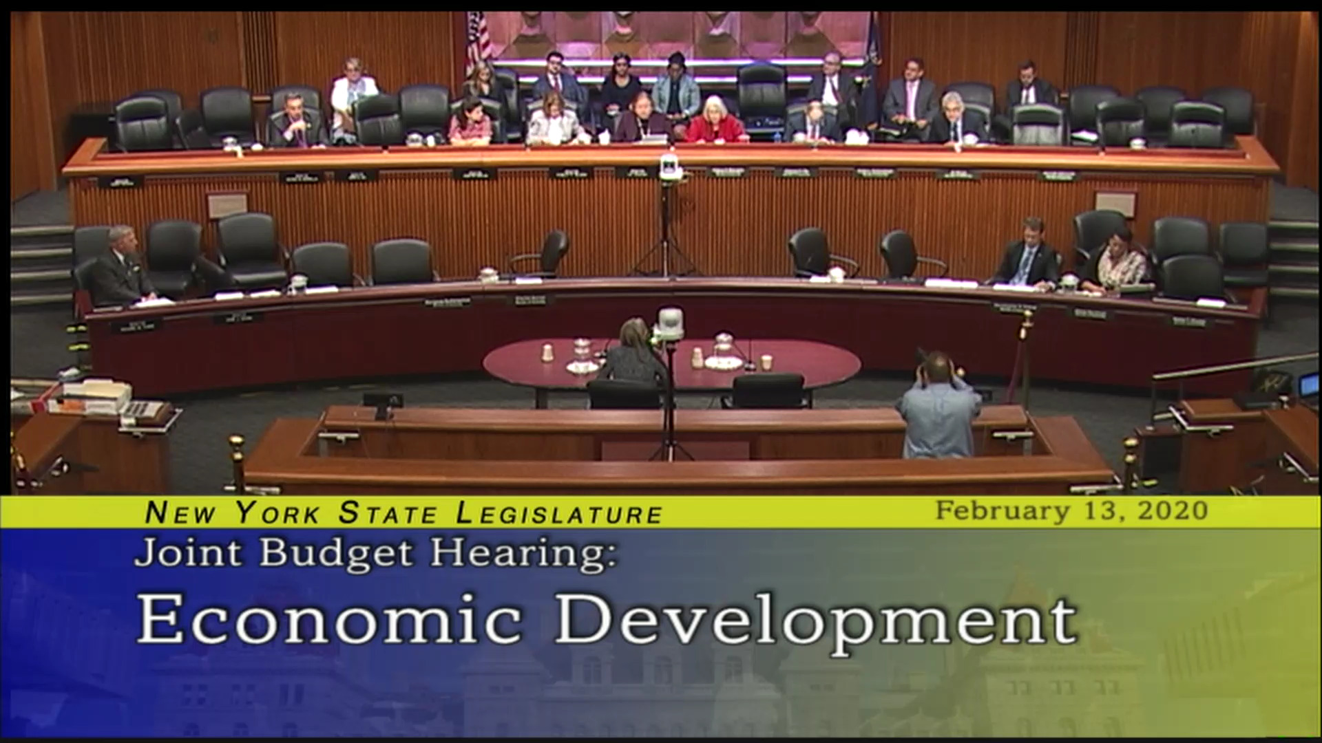 2020 Joint Budget Hearing on Economic Development (2)