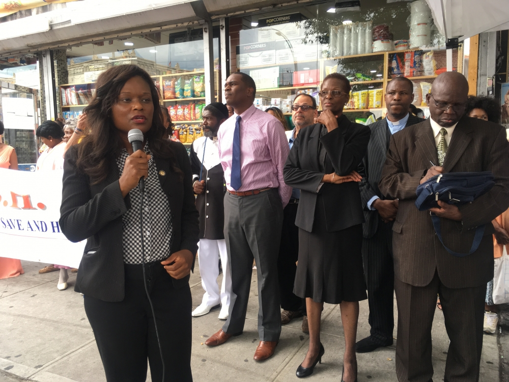During a year with a number of high profiles killings, Assemblymember Bichotte joins Churches United to Save and Heal (CUSH) to speak out about violence in the community.