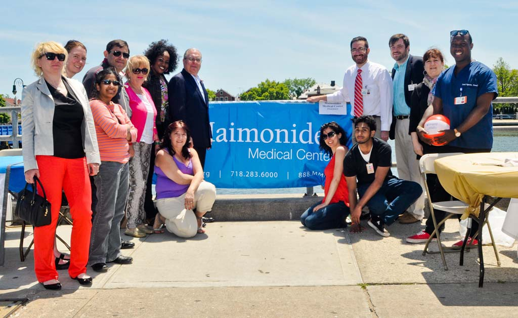 Maimonides Medical Center was an event sponsor of Assemblyman Cymbrowitz' 12th Annual Lena Cymbrowitz Community Health Fair.