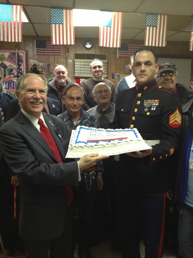 Assemblymember William Colton and Council Member Mark Treyger at Annual Veteran Recognition event. organized by them.