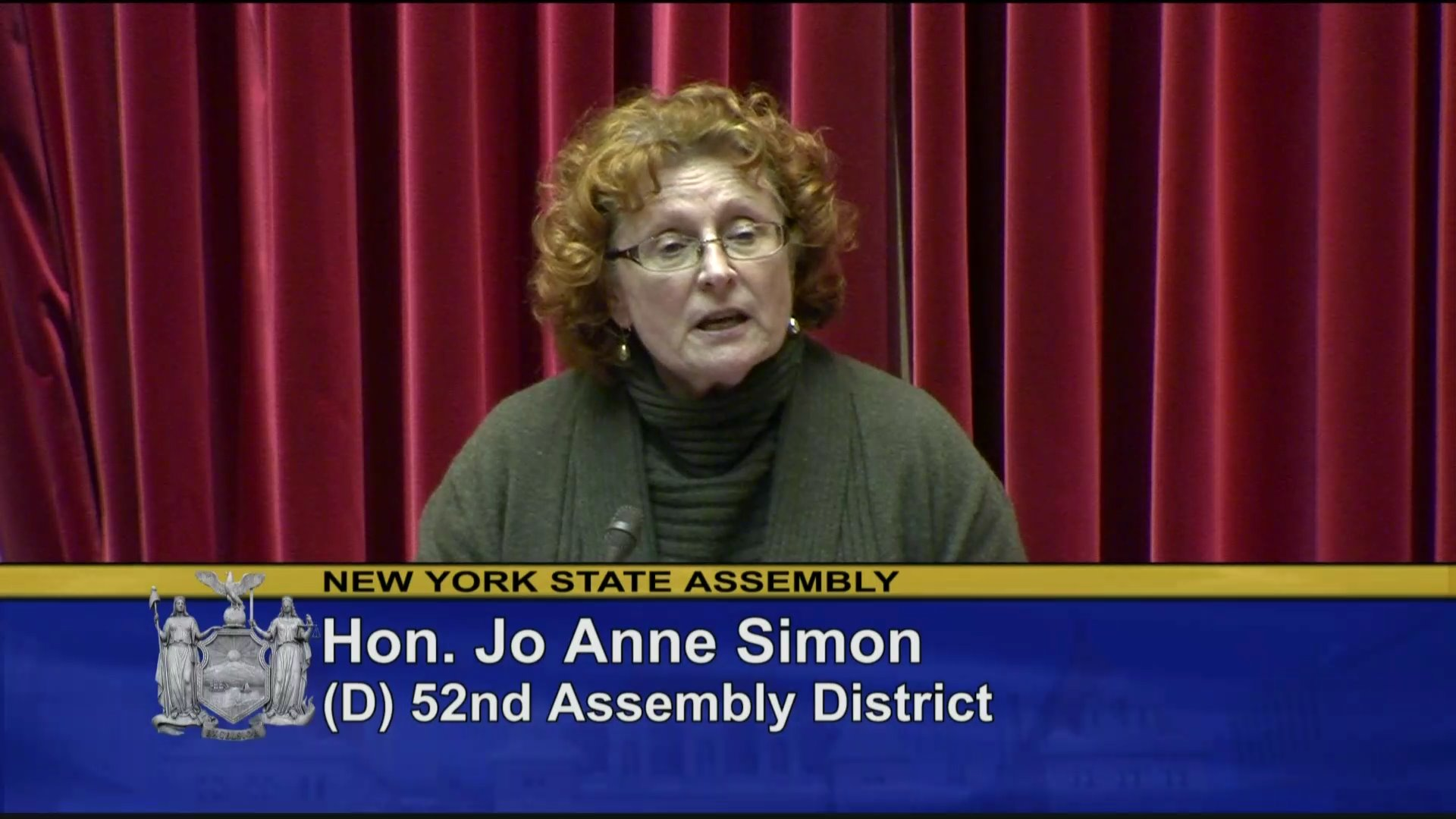 Simon Helps Pass New York State Budget