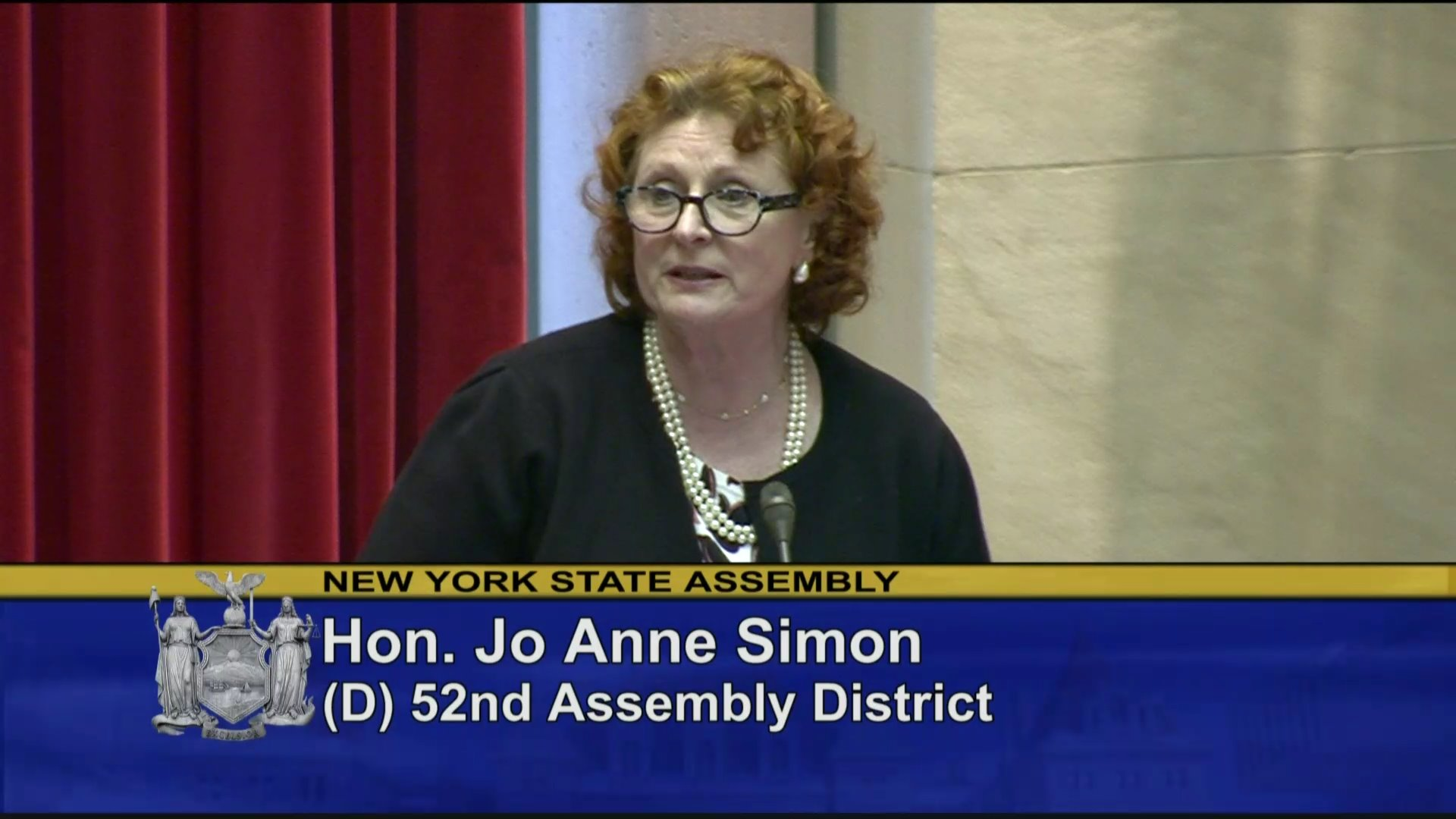 Simon Introduces NYPD, FDNY Members to Assembly Chamber