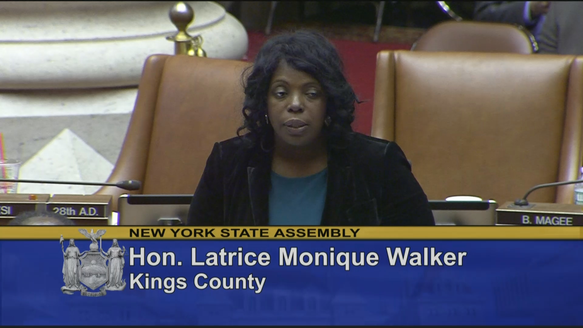 Assemblywoman Walker Fights for Fair Bail